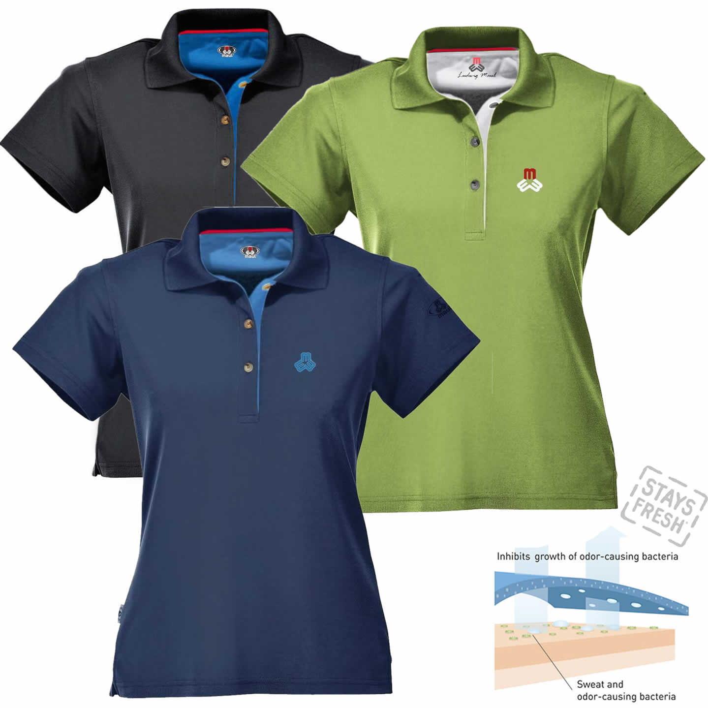 4d18e64deb9a45 Maul Damen Funktions-Poloshirt - kaufen bei RennerXXL