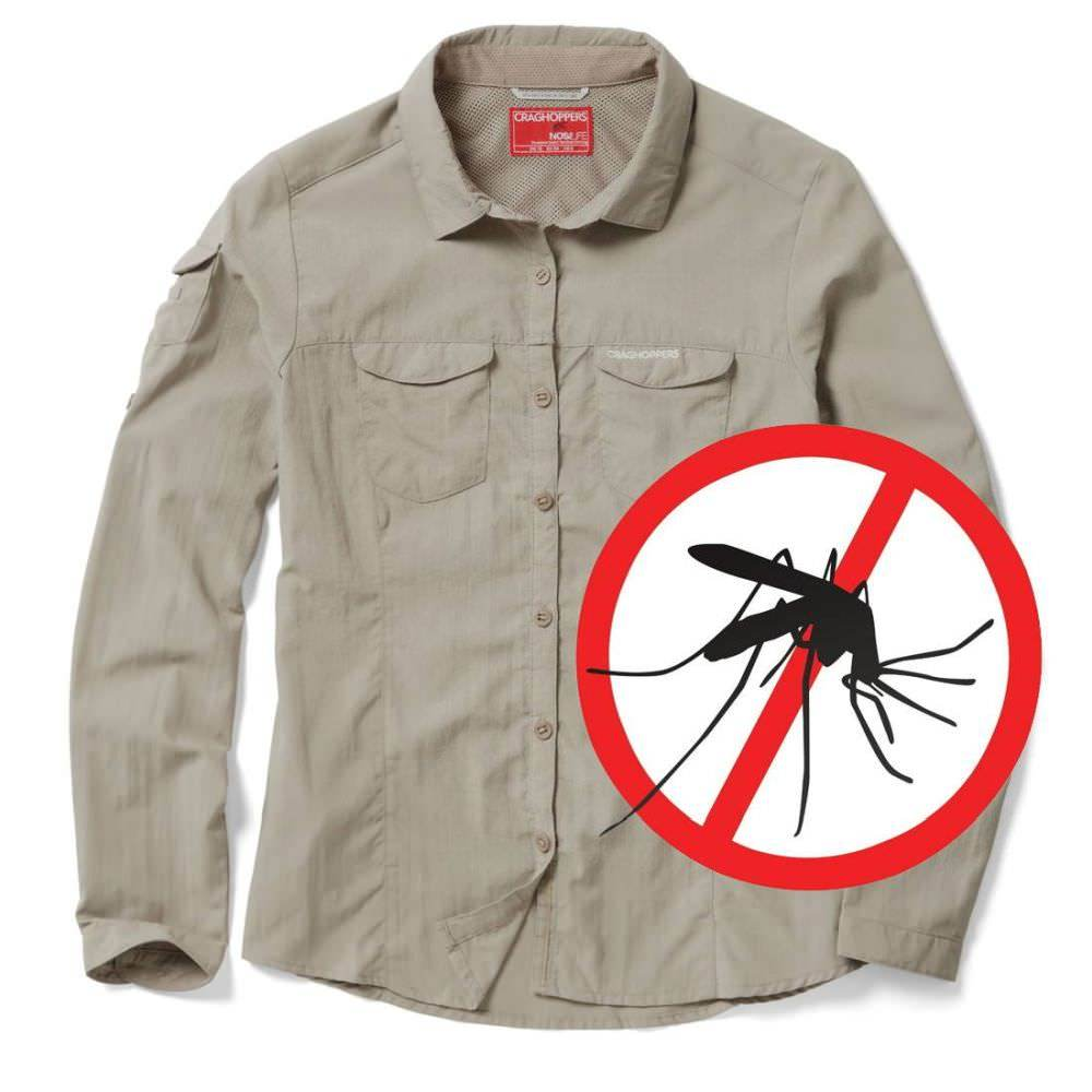 Craghoppers Adventure Mückenschutz Damenbluse