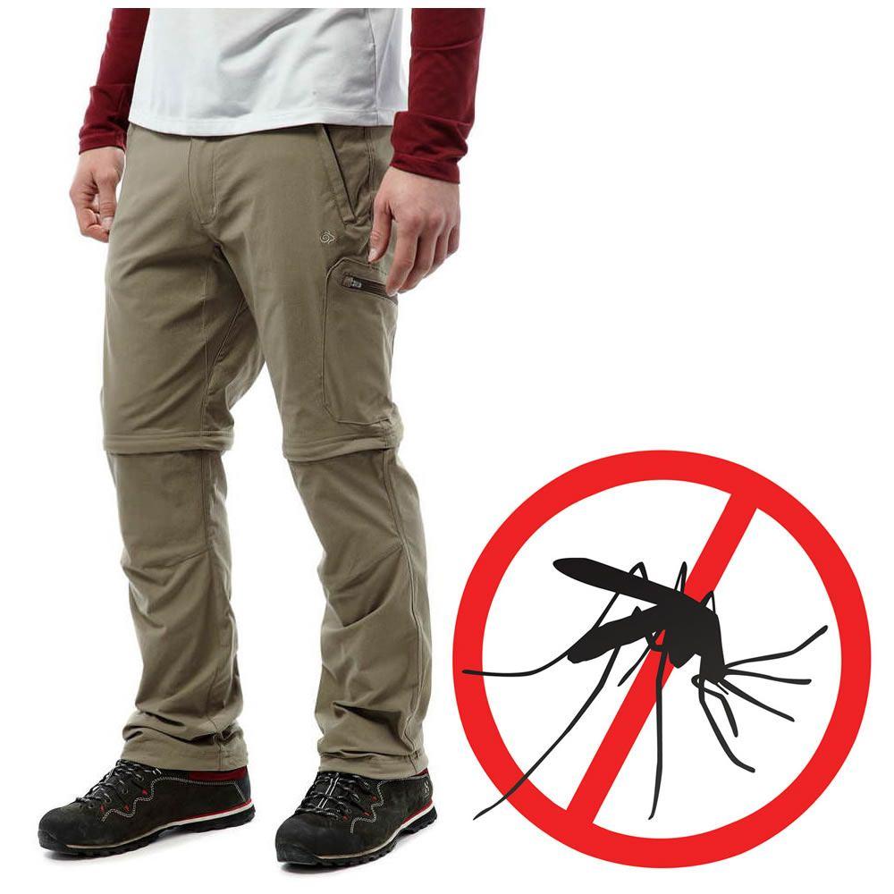 Craghoppers Pro Stretch Mückenschutz Herren Zip-Hose