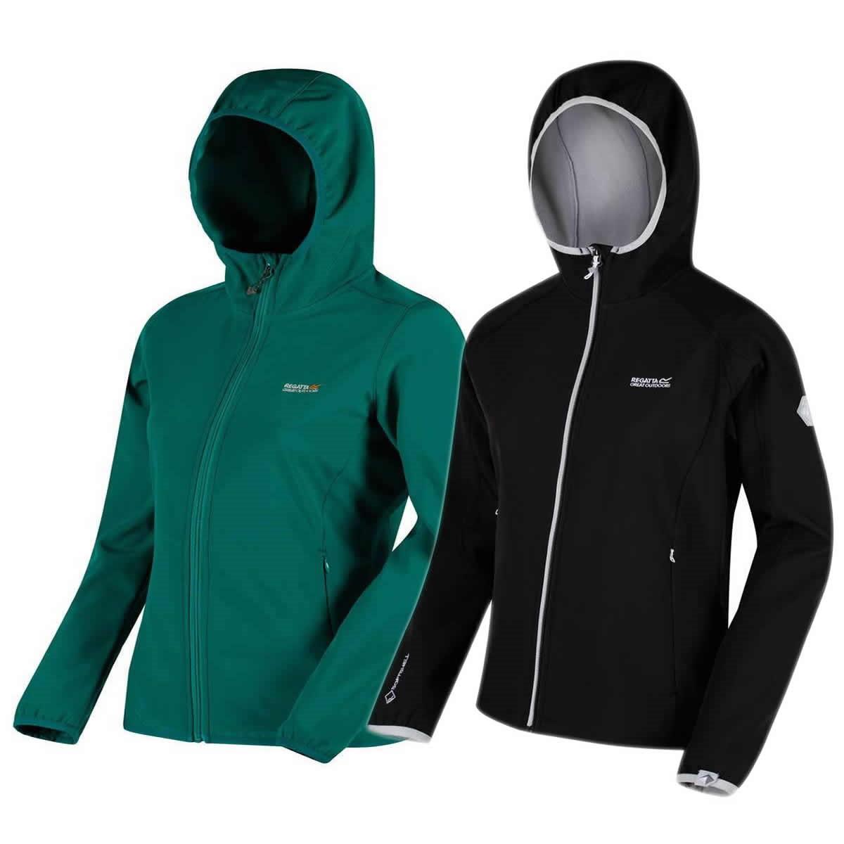 Regatta ARKA Softshell Jacke mit Kapuze Damen | Alle Größen