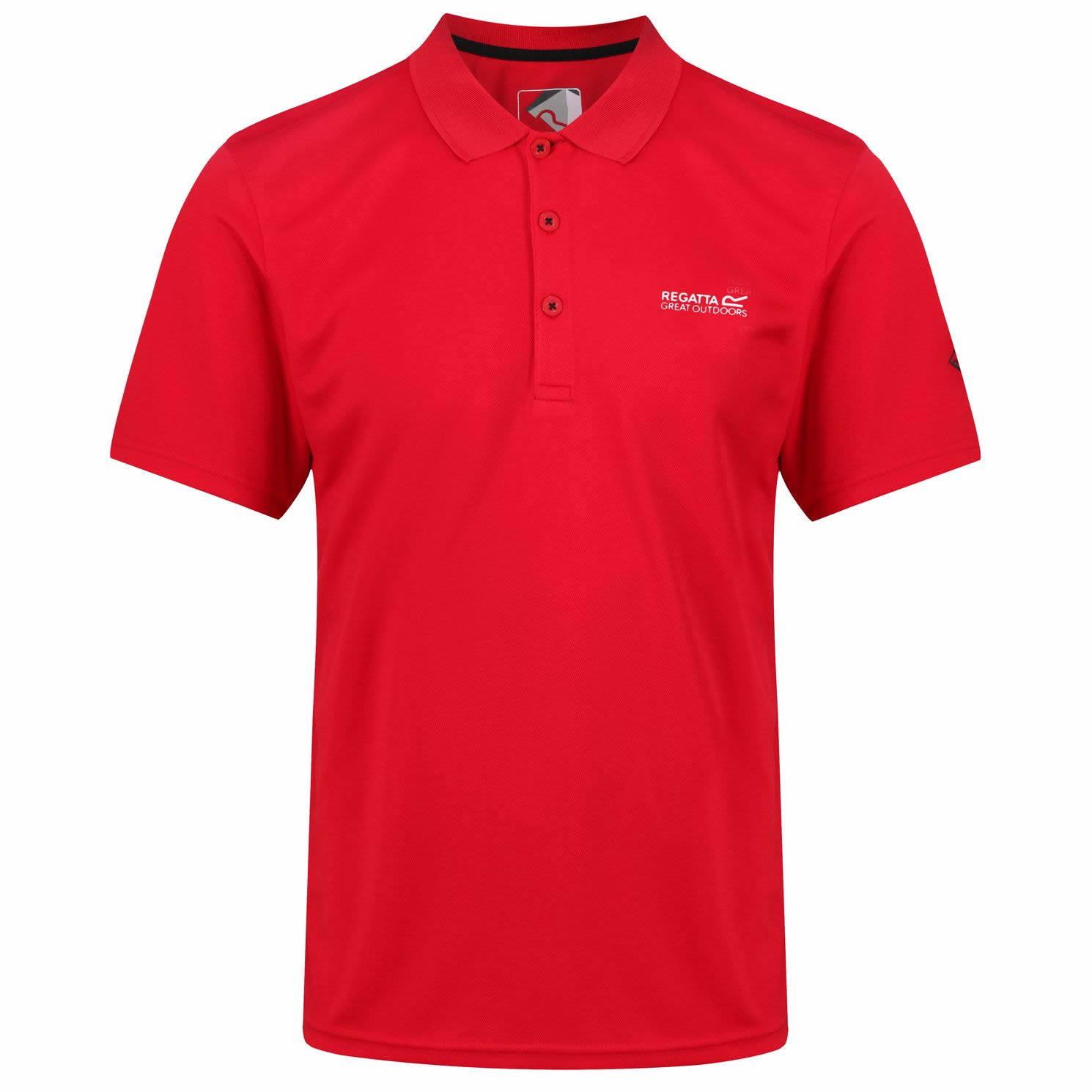 Regatta Marek Funktions-Polo-Shirt Herren | Alle Größen