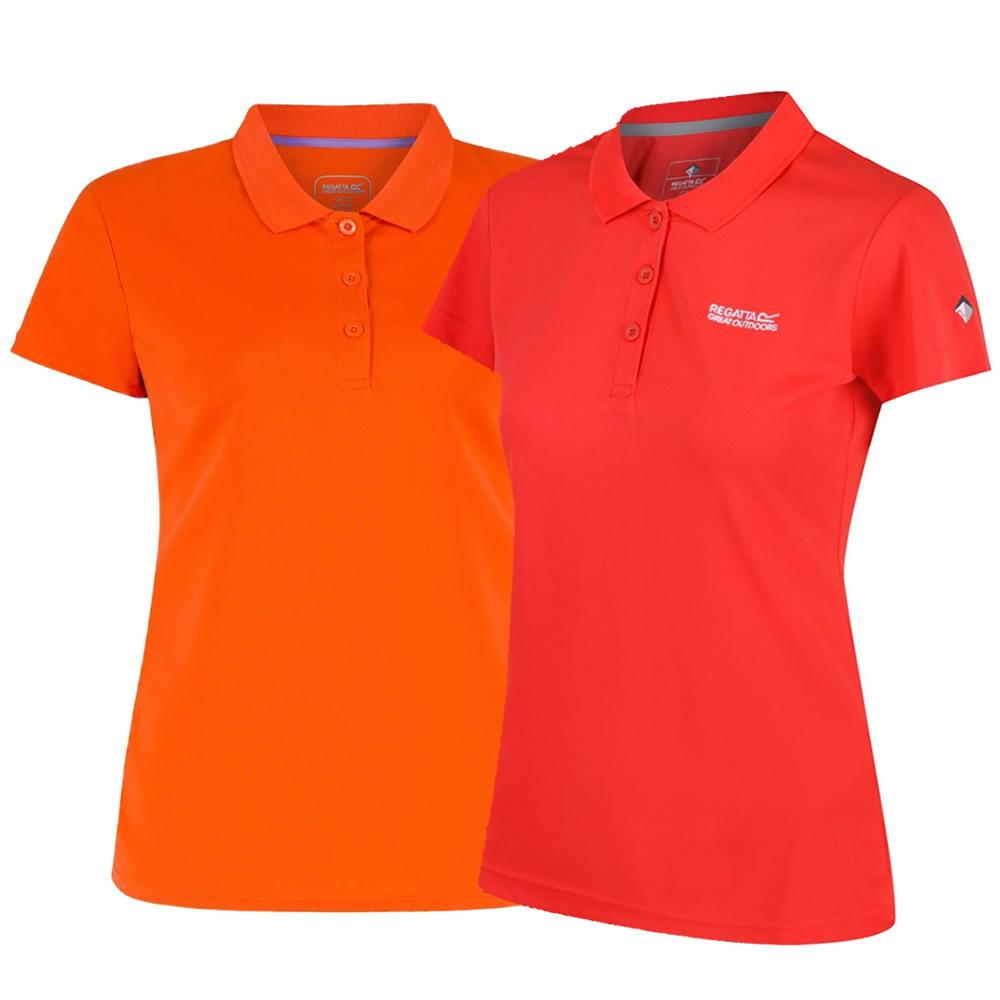 Regatta Maverik Funktions-Polo-Shirt Damen   Alle Größen