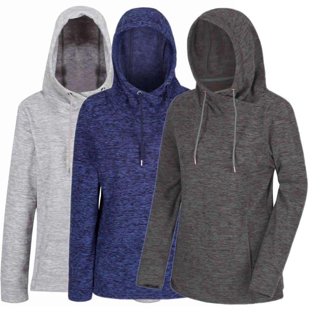 44a7420996276f Regatta Kizmit Fleece Hoodie Kapuzen Pullover Damen Online kaufen ...
