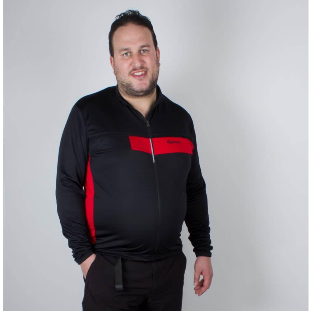 Gonso Kaolin Langarm Rad Fahrrad Trikot Shirt SLIMFIT