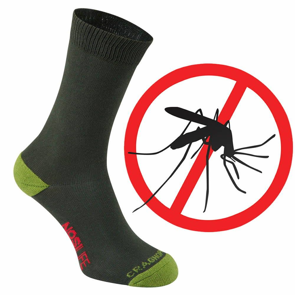Craghoppers MÜCKENSCHUTZ NOSILIFE Socken UNISEX