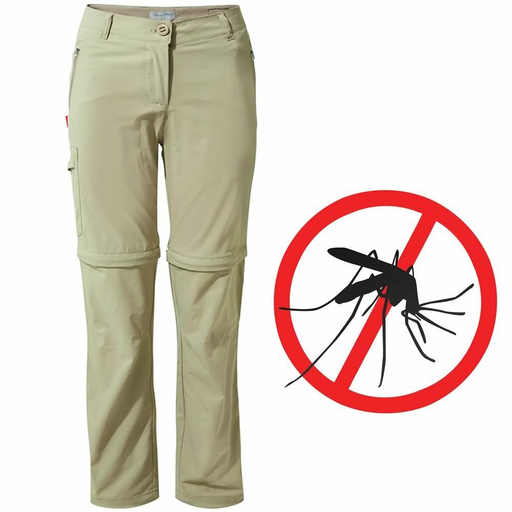 Craghoppers Pro Damen Zip-Off-Hose Mückenschutz NosiLife