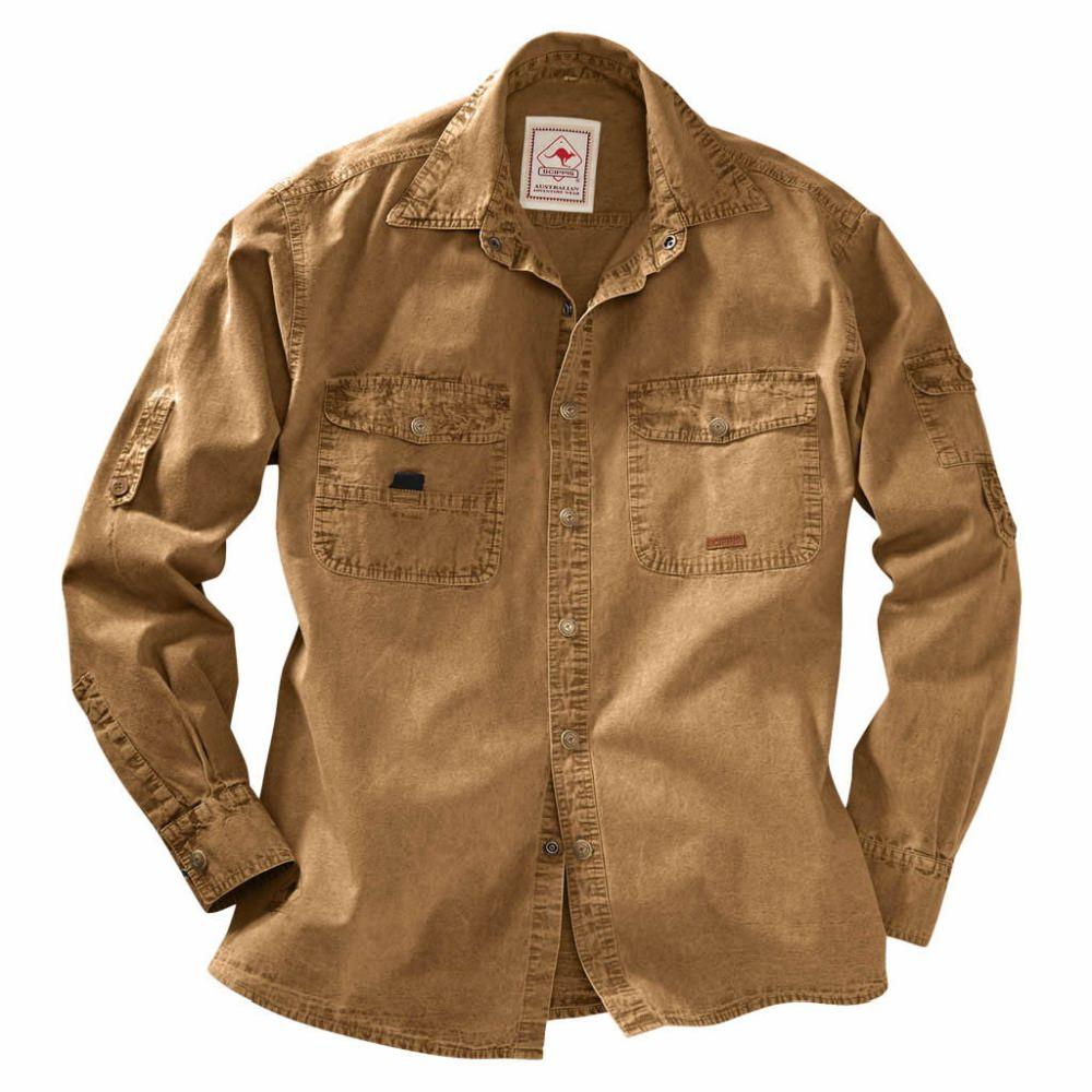 SCIPPIS Cowra Shirt - Australien Adventure Hemd Übergrößen