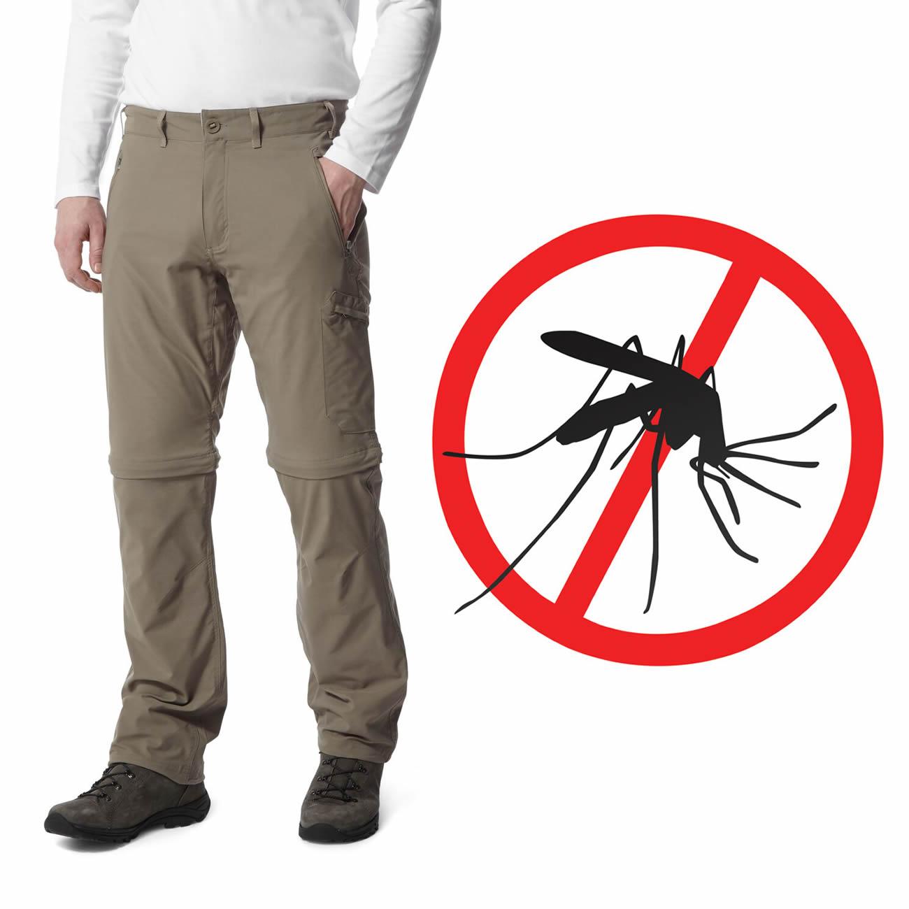 Craghoppers Convertible Herren Zipphose Mückenschutz