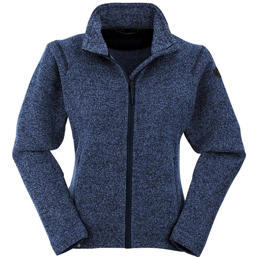 Maul Dreiheiden Damen Strickfleece Jacke Übergröße