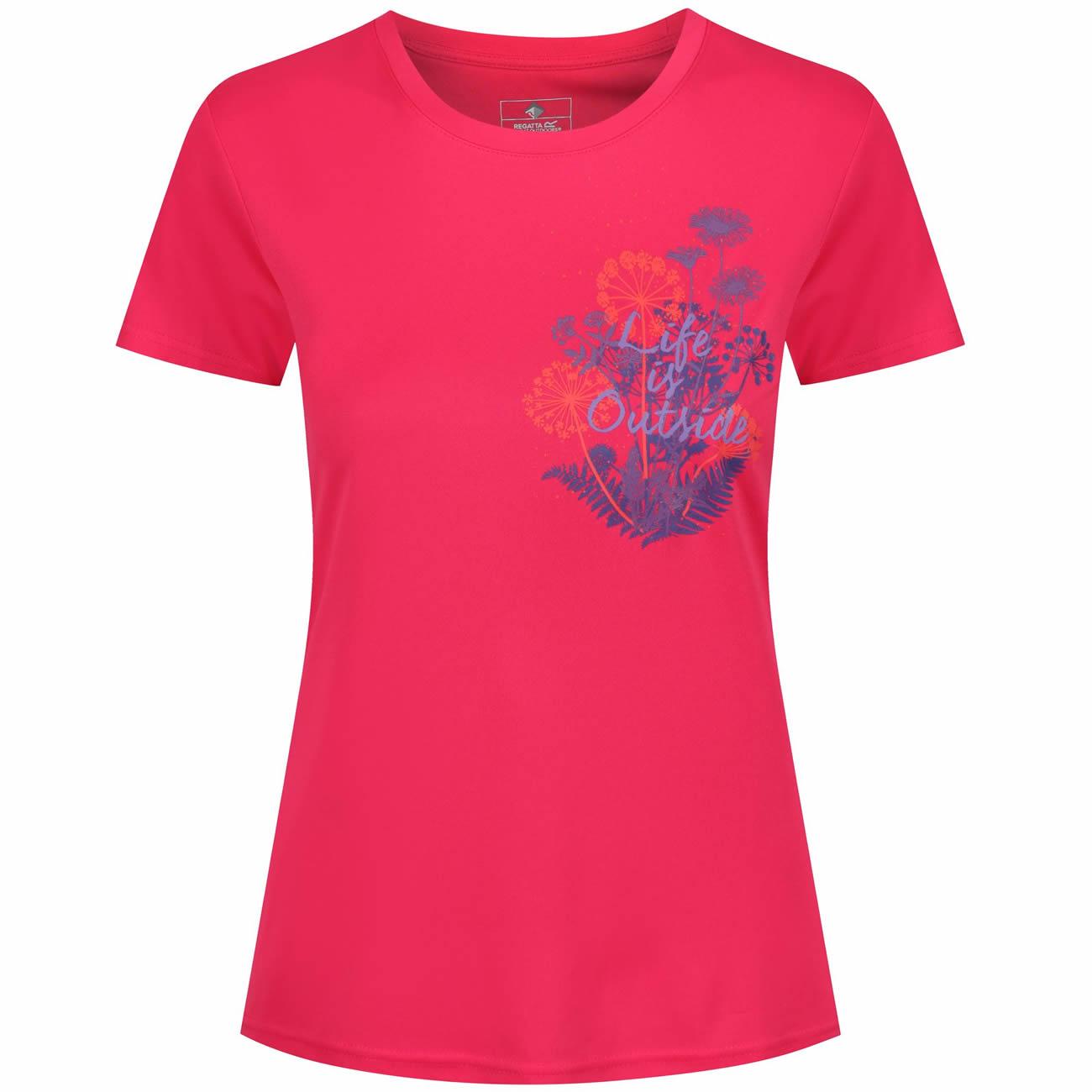 Fingal Damen Outdoor Funktionsshirt T-Shirt