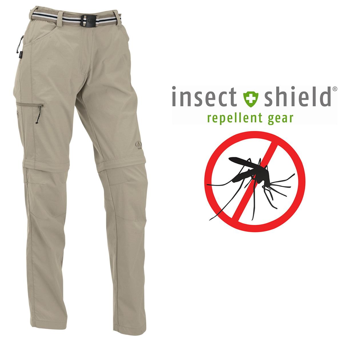 Maul Damen Insekten-Mückenschutz ZIPP-Outdoor-Hose