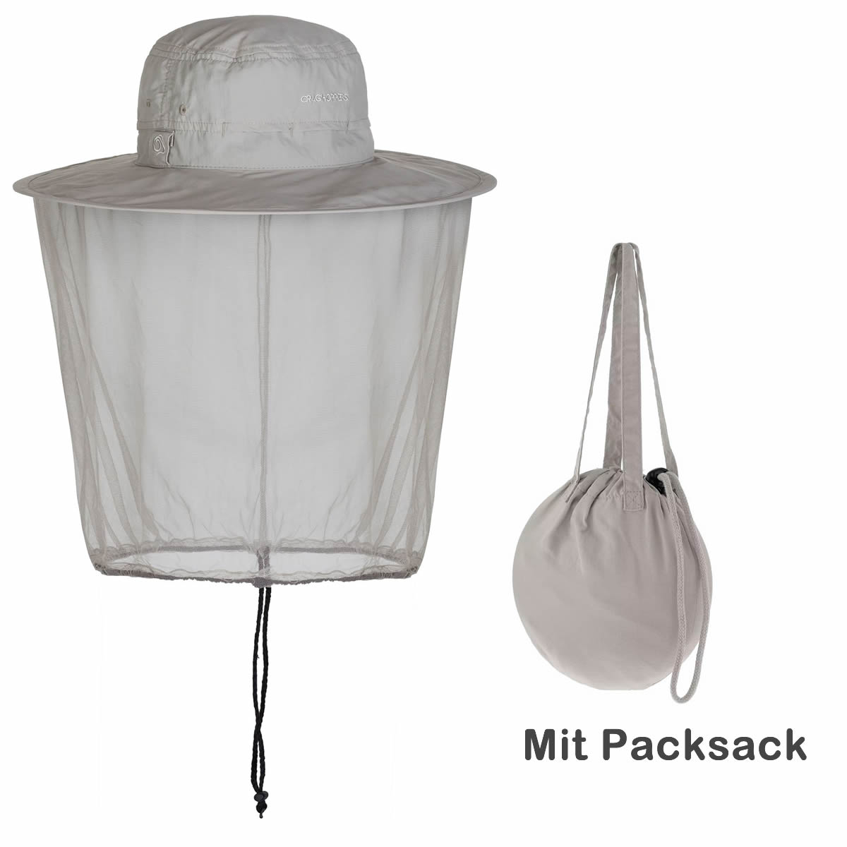 Craghoppers Packaway Mückenschutz Insektenschutz Hut