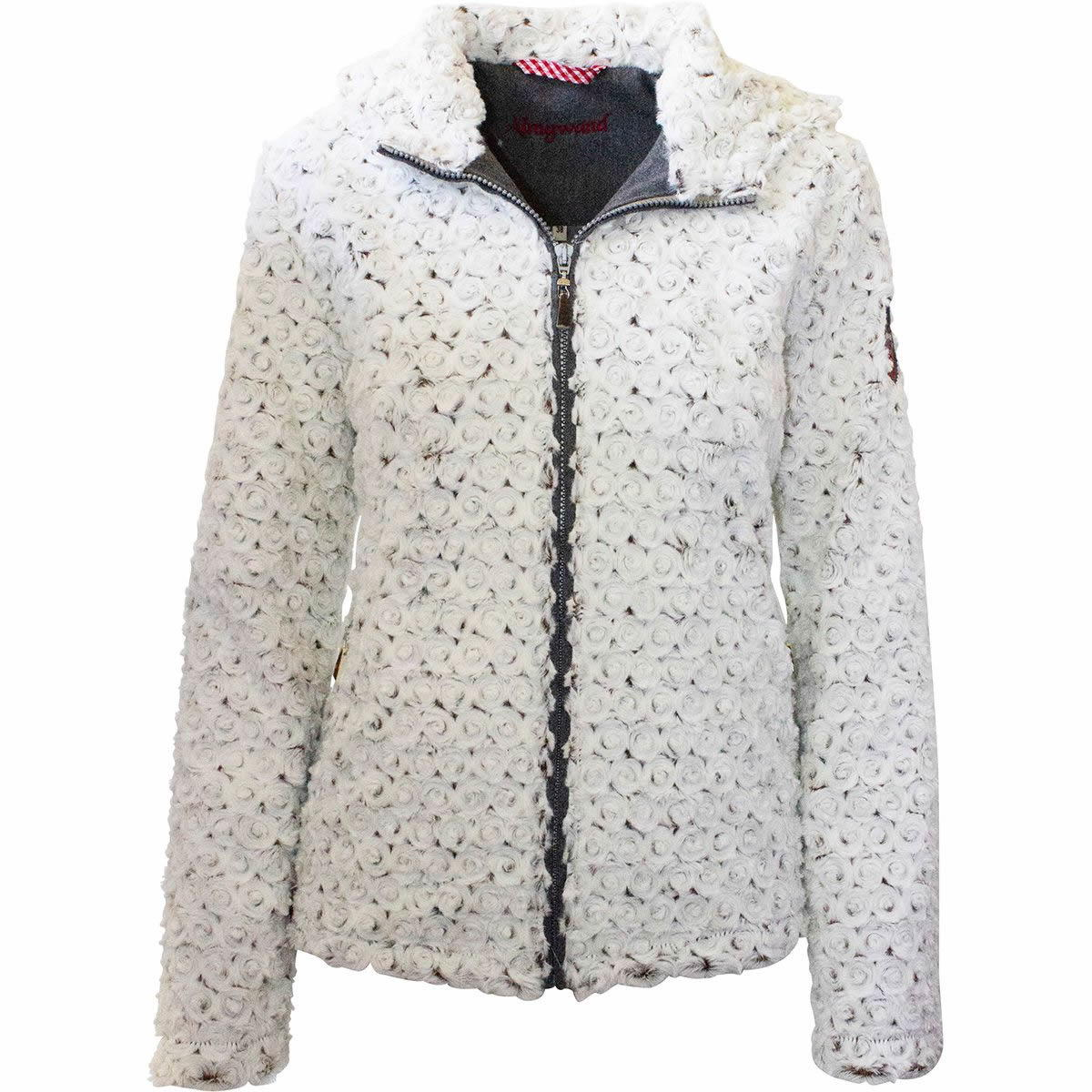 Almgwand Geißspitze Warme Kapuzen-Jacke Damen Übergröße