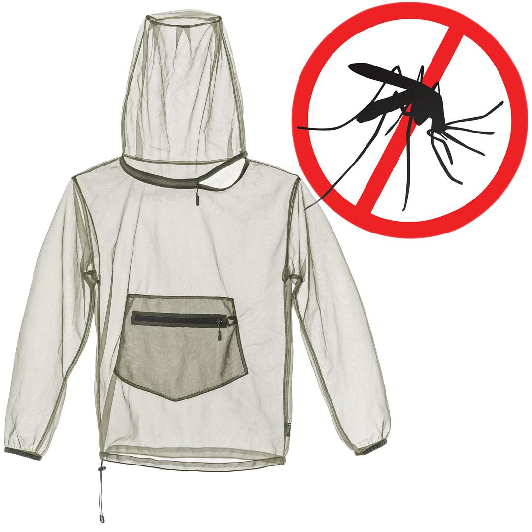 Pinewood Moskito Mückenschutz Überwurf Jacke mit Packsack