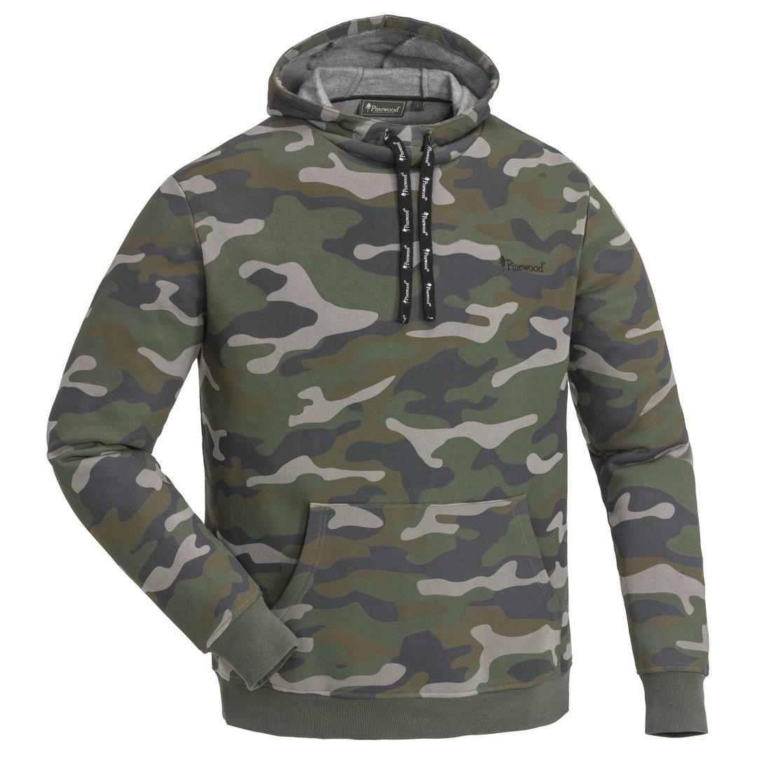Pinewood Herren Jungel Sweater Hoody Pullover Camo