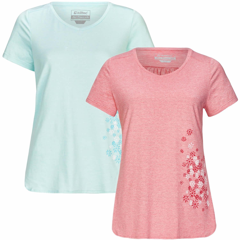 Killtec Venalla Damen Funktions-T-Shirt Große Größen