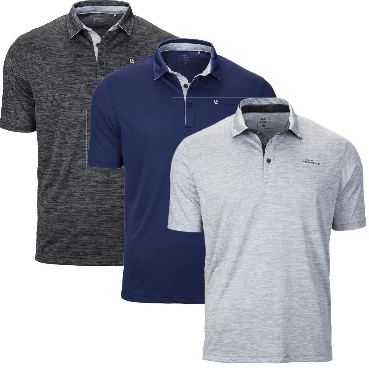 Linea Primero Samson Herren Shirt Funktionspolo Poloshirt