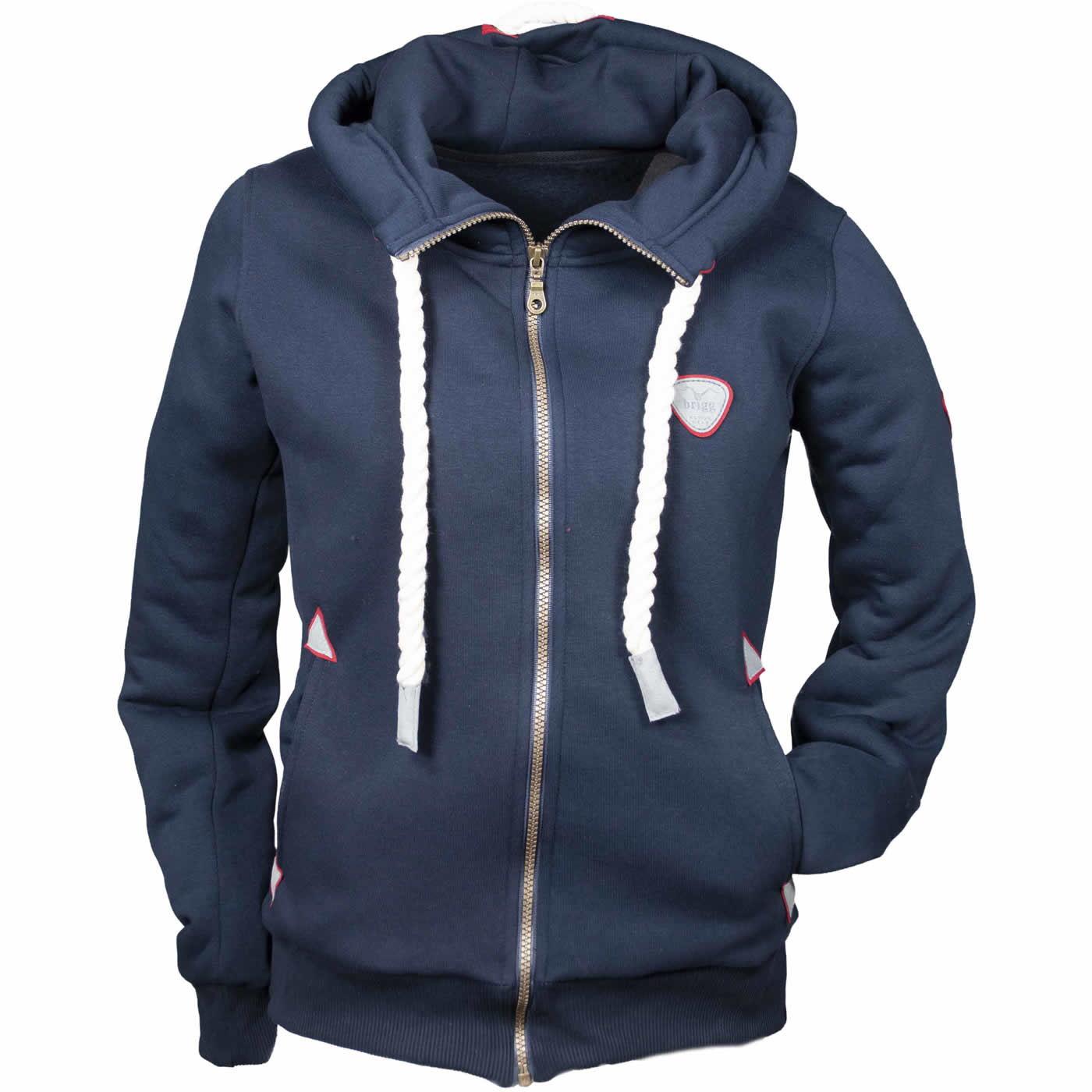 Brigg Finjara Damen Hoodie Sweatshirt Jacke Reißverschluss