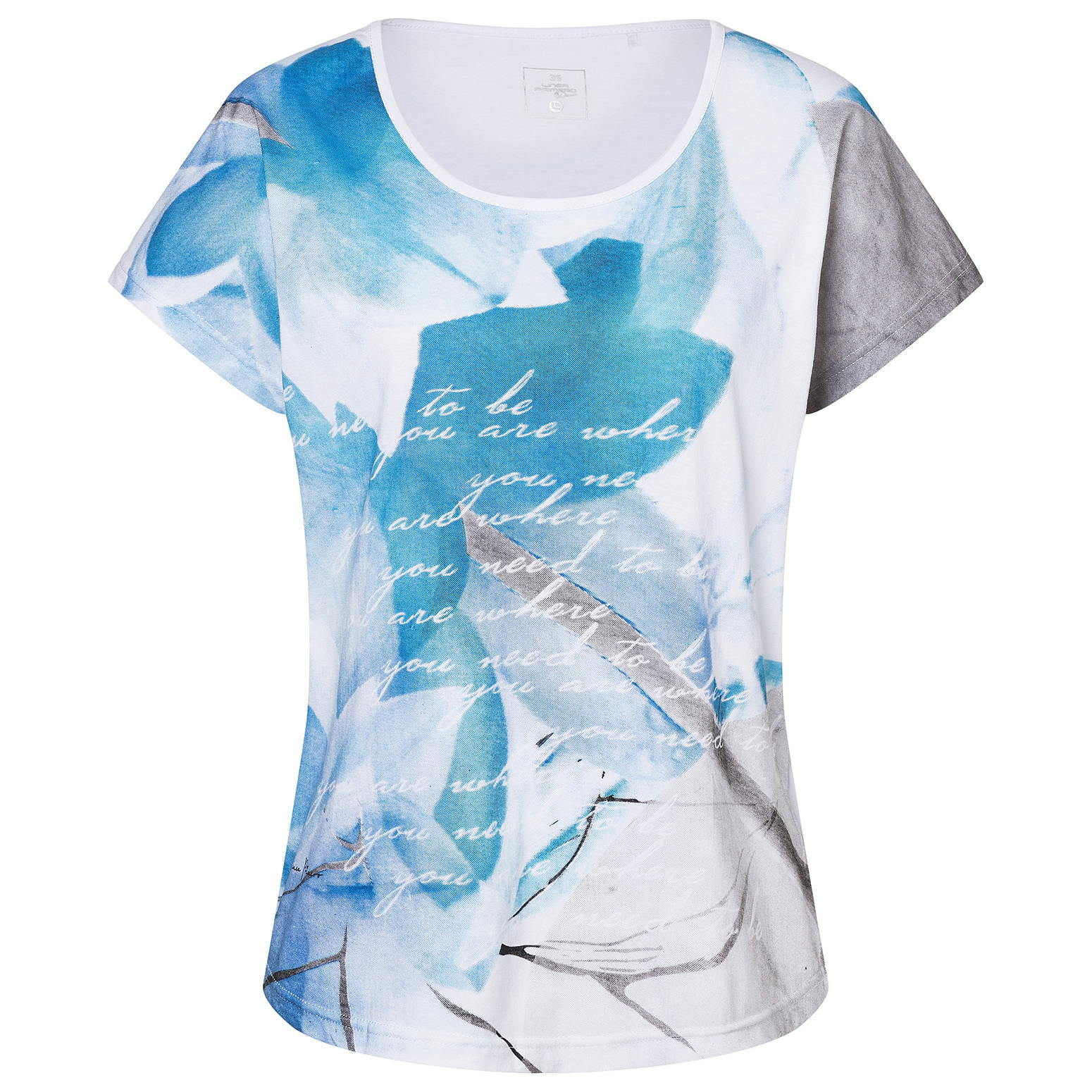 Linea Primero Edda - Damen T-Shirt Baumwoll-Poly Mix