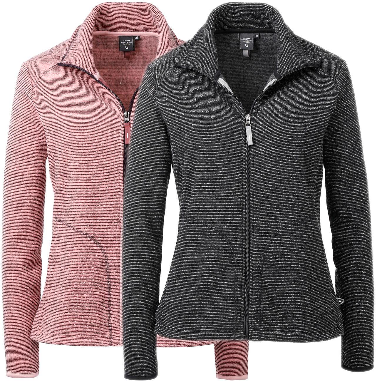 Linea Primero Enya Damen Strickfleece Jacke Große Größen