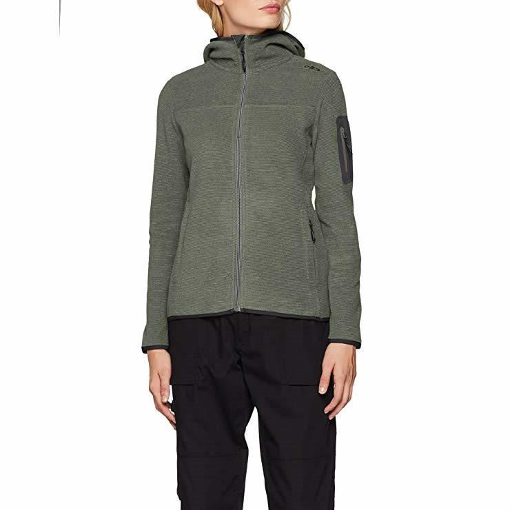 CMP Damen Strick-Fleece Jacke Große Größen