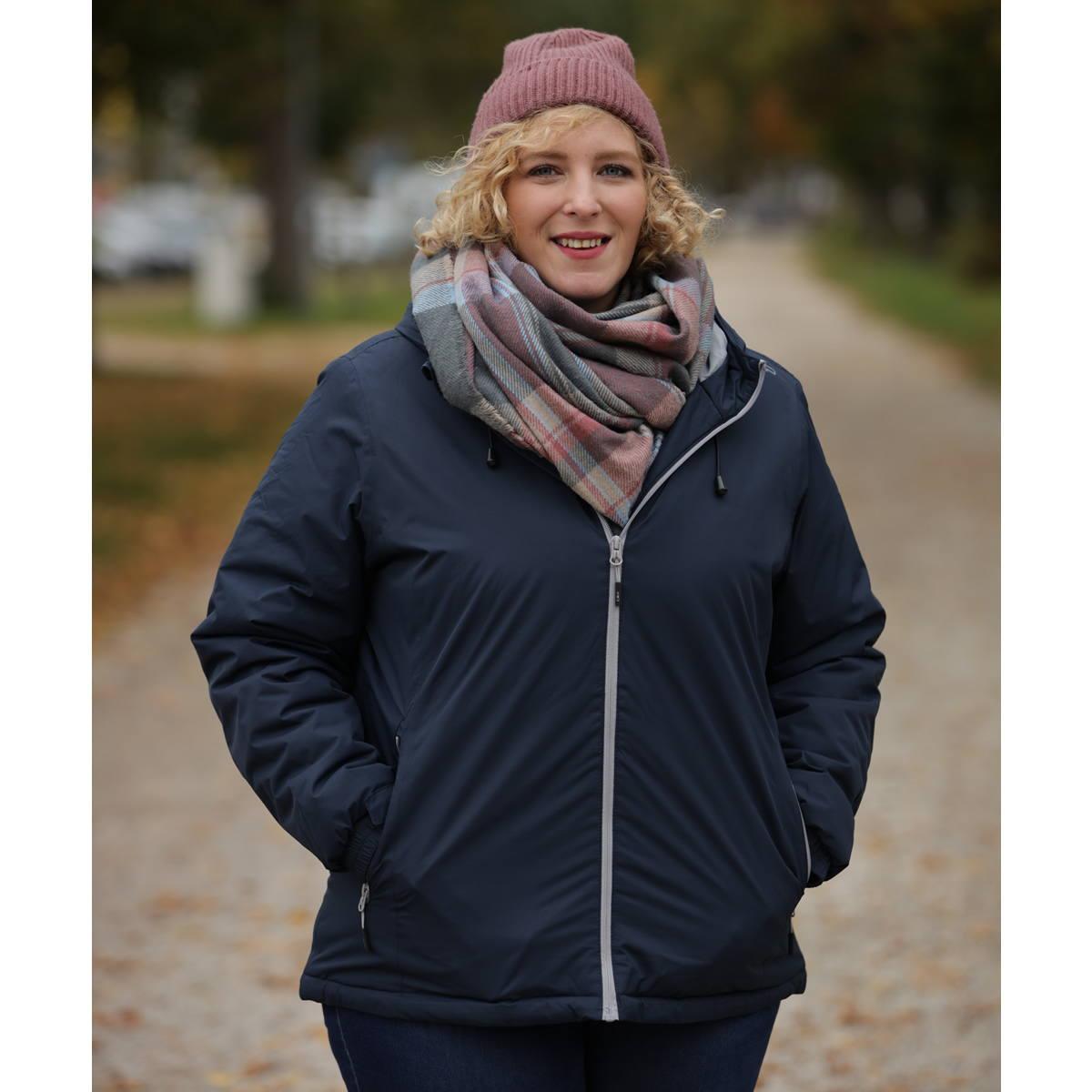 CMP Mirta Wattierte Damen Softshell Jacke Große Größen