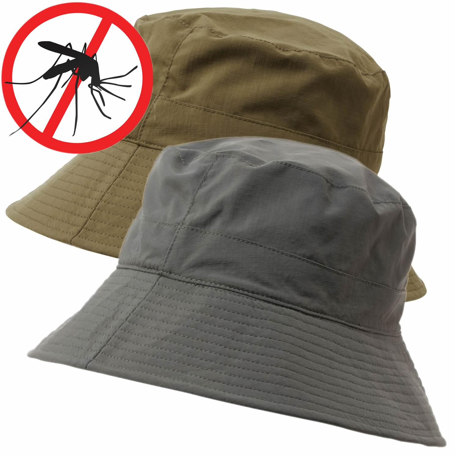 Craghoppers Herren Sonnen Hut NosiLife Mückenschutz