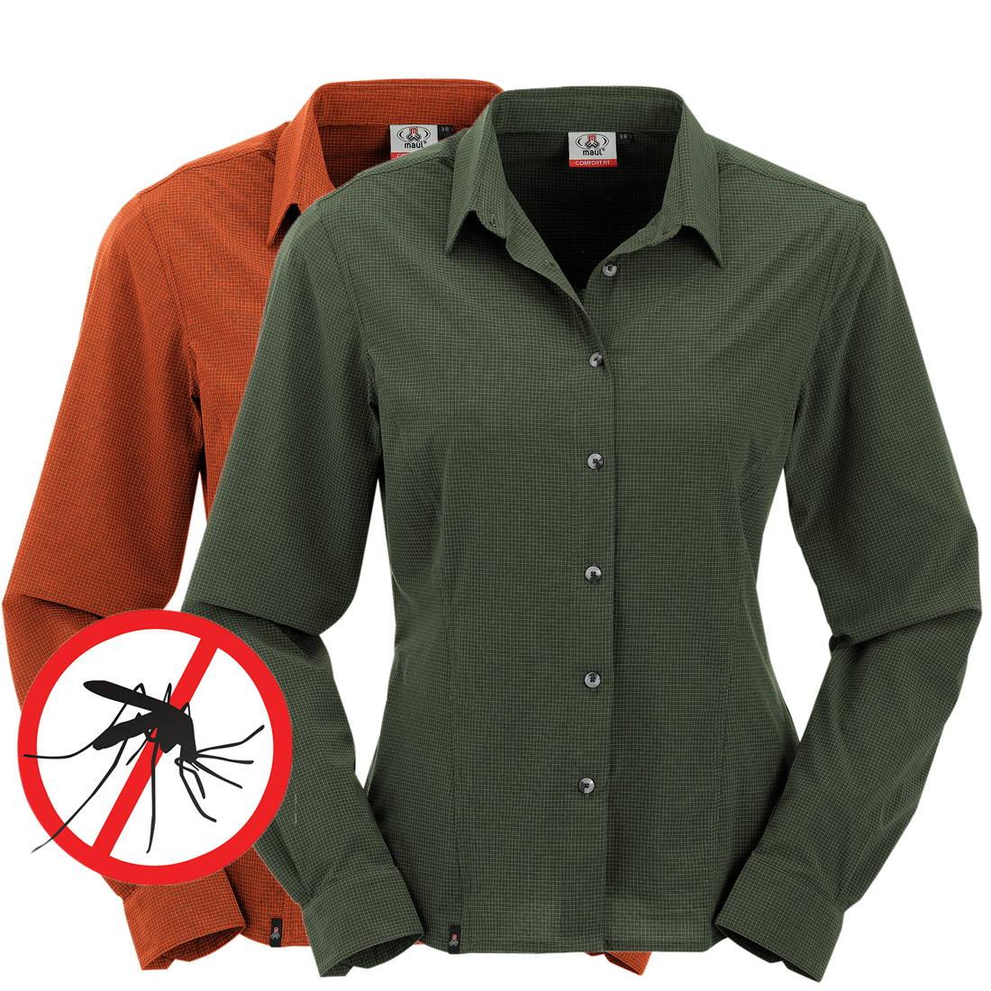 Agile Damen Mückenschutz Insektenschutz Hemd Bluse Langarm