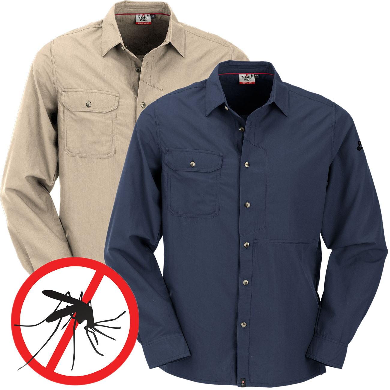 Andaluz Langarm Herren Hemd Mückenschutz - Alle Größen