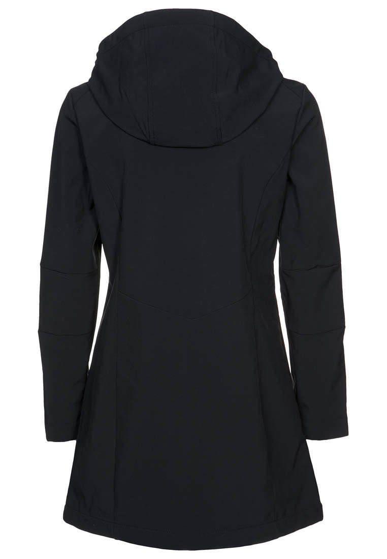 Das Design ist sehr schön Damen Softshell Jacke lang Mantel
