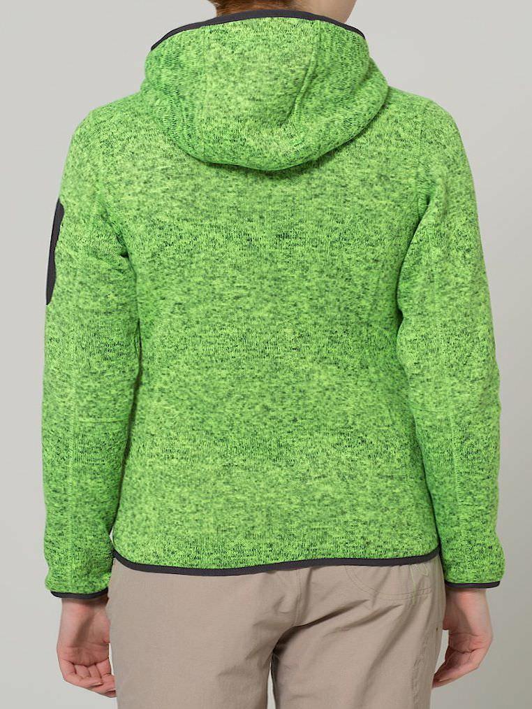 Campagnolo CMP Strick Fleece Jacken Frauen Übergröße