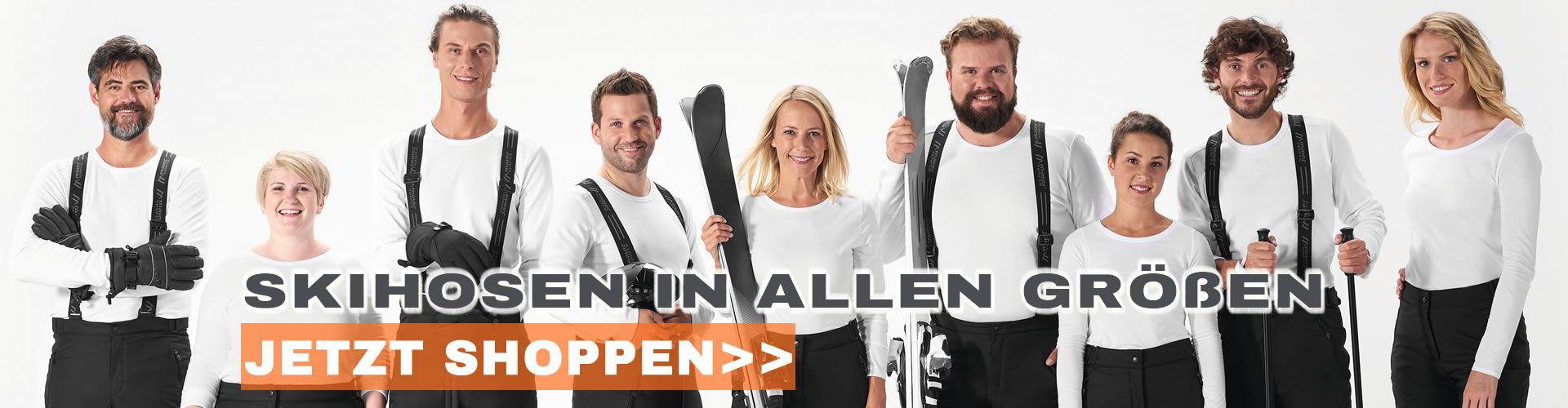 Skihosen in allen Größen