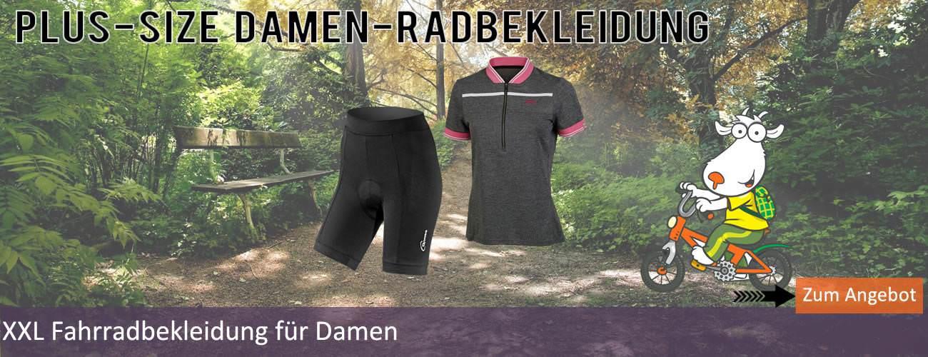 Radbekleidung Damen XXL
