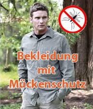 Mückenschutz-Bekleidung