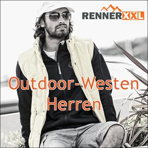 Herren Outdoor-Westen in Übergrößen