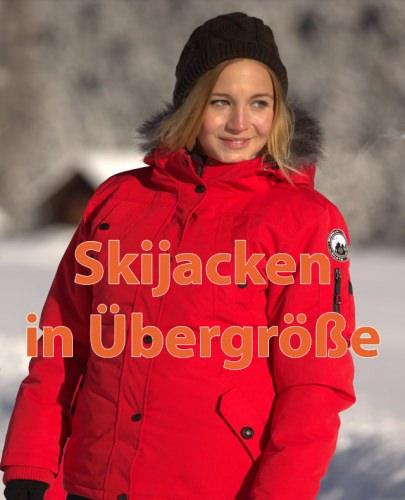 Skijacken in Übergrößen