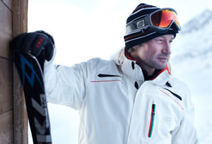 Männer Skijacke in Übergröße
