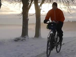 Image Radfahren im Winter