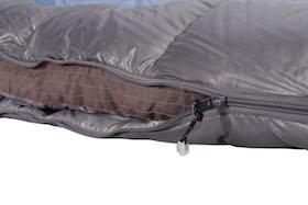 Schlafsack mit Wärmekragen