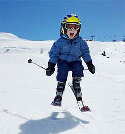 Wie fährt man mit kindern ski