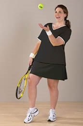 XXL Tennis Kleidung Image