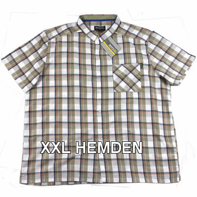 Herren Hemden in Übergröße